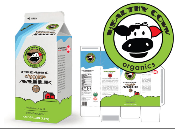 Healthy Cow Packaging